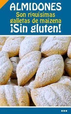 #receta #galletas #almidones #maizena #singluten Gluten Free Sweets, Gluten Free Cakes, Gluten Free Baking, Vegan Gluten Free, Gluten Free Recipes, Dairy Free, Gluten Free Alcohol, Cocktail Cake, Vegan Snacks