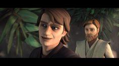 Obi-Wan's getting tired of your crap, Anakin.