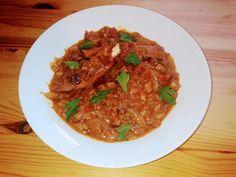 Bacon, Spaghetti, Beef, Ethnic Recipes, Food, Meat, Essen, Ground Beef, Yemek