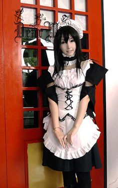 maid sama cosplay alodia - photo #3