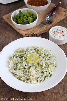 Cilantro Lime Rice Recipe | Easy Mexican Recipes - definitely a recipe i'll be using again. LOVE this rice. try it if you get the chance. I highly recommend it!