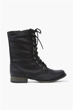 The Georgia Boot in Black