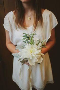 single flower bouquets // photo by Tessa J
