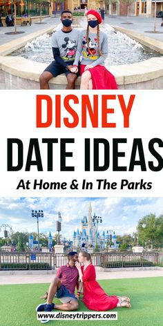Disney Date Ideas at home and in the parks | disney themed date night | romantic things to do at disney world | disney date ideas | cute romantic disney ideas | best date night ideas for disney world | romantic disney dates | disney for adults | disney travel tips #disney #disneyworld
