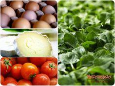 Opskrift - Omelet med spinat