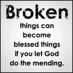 God the healer of all our brokenness.