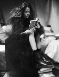 """A Woman of a Singular Charm"" Freja Beha Erichsen by Paolo Roversi for Vogue  Italia, November 2007"