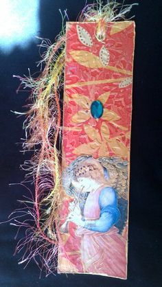 """Punto de libro (marcapáginas) """" Ángel"""" de La Terra por DaWanda.com"""