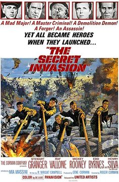 [VOIR-FILM]] Regarder Gratuitement The Secret Invasion VFHD - Full Film. The Secret Invasion Film complet vf, The Secret Invasion Streaming Complet vostfr, The Secret Invasion Film en entier Français Streaming VF Old Movies, Vintage Movies, Movies 2019, Vintage Posters, Movie Photo, Movie Tv, Movie Theater, Movie Titles, Theatre