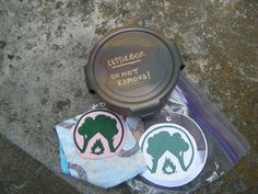 Letterboxing - Haven't tried this, but it looks fun!