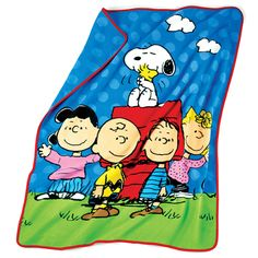 "AVON - Peanuts Snoopy and The Gang are all here! It's the 65th Anniversary of Snoopy and the Gang! This iconic, popular classic has been on television for 50 years and will be on the big Screen in November 2015! This adorable throw blanket is 50""x 60"" .. The image is Snoopy Hugging Woodstock, plus the whole Peanuts Gang .. For ages 3 and up.. Order# 428-836 $19.99"