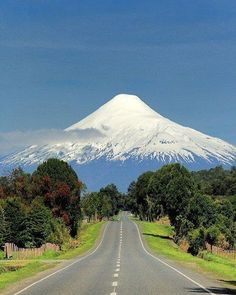 Road to Parinacota Volcano, Chile, photo by @dreamnaturelove