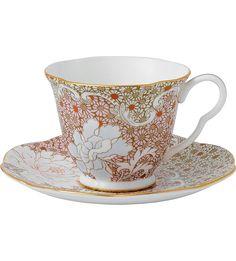 WEDGWOOD - Daisy tea cup & saucer set   Selfridges.com