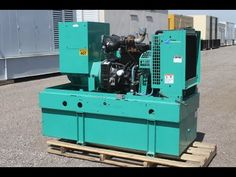New Video! Cummins 50 kW Diesel Generator – Unit# 87371 – Video shows Cummins 50 kW Standby Diesel Generator being load bank tested at the Diesel Service & Supply facility in Brighton, Colorado. 480 Volt, 60 Hz, 3-Phase Industrial Genset with only 620 Hours Run Time! #cummins #dieselgenerator #loadbanktest https://youtu.be/x6cLKE7jHWA