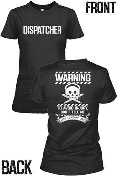Dispatcher's Warning www.fittedera.com   OMG I want one so bad!!!