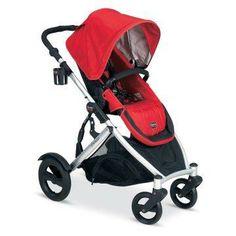 Britax B-Ready Stroller - Red.