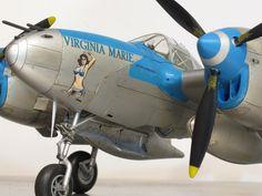 Lockheed P 38 Lightning, Korean War, Nose Art, Ww2, Planes, Fighter Jets, Virginia, Aircraft, Scale