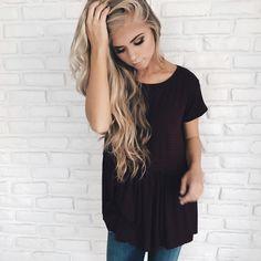 Blonde hair, wavy hair, blonde wavy hair, JessaKae, women's fashion