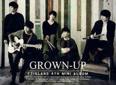 "FT ISLAND 4th Mini Album ""Grown Up"" 2012"