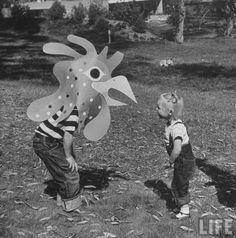 Eat Tarantula: Animal Toys by Charles Eames 1951
