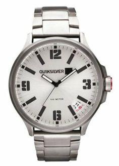 b165ef135a77 Quiksilver Beluka Watch - Silver Quiksilver.  179.95