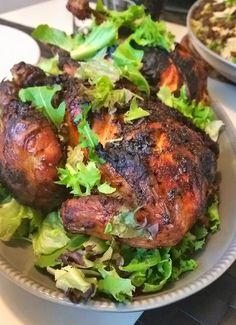 Helstekt kyckling i ugn