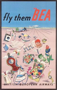Air Cargo - British European Airways (BEA)