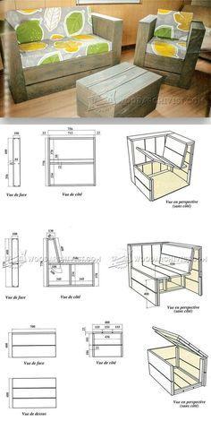 Pallet Furniture Plans - Furniture Plans and Projects   WoodArchivist.com