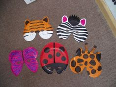 Go Back > Gallery For > Paper Plate African Masks Paper Plate Masks, Paper Plates, Crafts To Make And Sell, Fun Crafts For Kids, Animal Activities, Preschool Activities, Deadly Animals, Bird Masks, Ecole Art