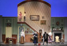 Chinchilla Theatrical Scenic Mary Poppins scenery rental