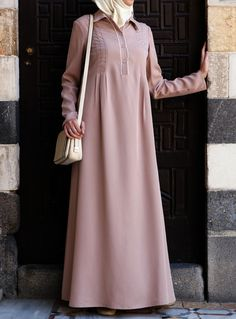 Tencel Amina Abaya- perfect and lightweight Islamic Dress from SHUKR