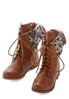 Travel Enthusiast Boot. From day trips to globetrotting adventures, these fawn-brown boots accompany you everywhere. #tan #modcloth