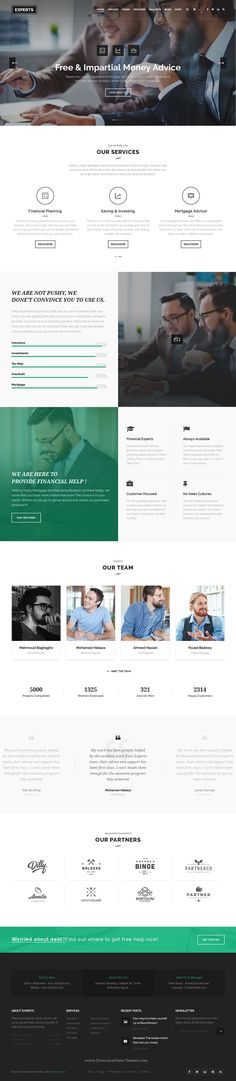 Experts is Professional WordPress Theme for #Finance #Firms #website. Download Now