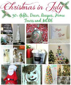 Christmas In July #whatmeeganmakes