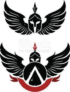 Sparta Coat of arms is part of Christian tattoos Forearm Words - Sparta Coat of arms Body Art Tattoos, Tribal Tattoos, Sleeve Tattoos, Sparta Tattoo, Spartan Logo, Shetland, Mythology Tattoos, Spartan Warrior, Warrior Tattoos