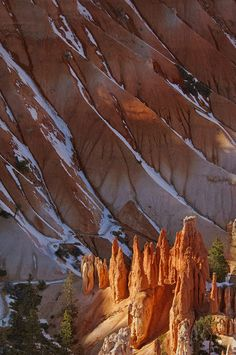 Winter Castles II. Bryce Canyon National Park, Utah, USA. - Bryce-Canyon-National-Park-Utah-USA - Mike Reyfman Photography