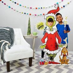 Dr Seuss Party Room Decorations - The Grinch Life Size Cardboard Stand In for sale online Childrens Party Games, Beach Party Games, Indoor Party Games, Tween Party Games, Bridal Party Games, Princess Party Games, Backyard Party Games, Engagement Party Games, Dinner Party Games