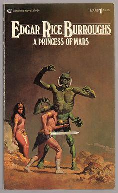 A Princess of Mars (1977) by Book Covers: Vintage Paperbacks, Mars Sci-Fi, via Flickr