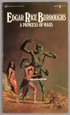 A Princess of Mars (1977) by Book Covers: Vintage Paperbacks, Mars Sci-Fi, via Flickr