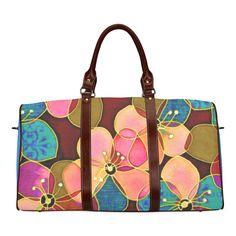 FLOWERPOWER Waterproof Travel Bag Small (Model 1639) b815af918de68
