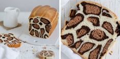 Leopard Milk Bread Recipe By French Baker (Bored Panda) Milk Bread Recipe, Bread Recipes, Baking Recipes, Cake Recipes, Yummy Treats, Sweet Treats, Savoury Baking, Fast Easy Meals, Bread Cake