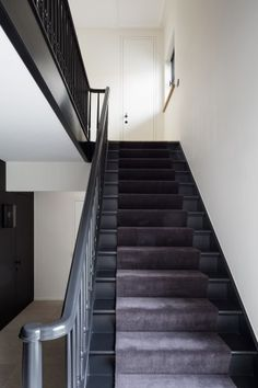 Kordekor |. Black Painted StairsHome ...
