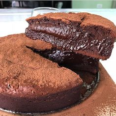 Dessert Recipes: 67 Quick Easy & Actually Delicious Dessert Recipe Ideas Your Family Friends & Guests Will Love - Everytime You Make Them! Flourless Chocolate Cakes, Chocolate Desserts, Choco Chocolate, Chocolate Decorations, Delicious Desserts, Dessert Recipes, Yummy Food, Mouth Watering Food, Brownie