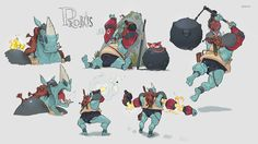 LUSCUS story concept part1 on Behance
