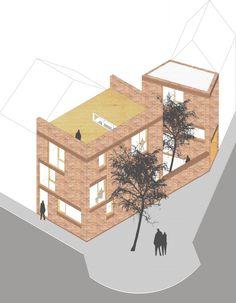 laagenergiewoningen in Ledeberg - BULK architecten
