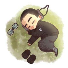 Kaisoo, Kyungsoo, Exo Cartoon, Exo Fan Art, I Luv U, Exo Do, My King, Wattpad, Chibi