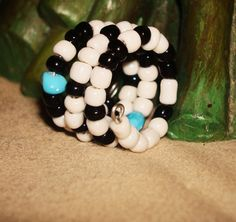 Black and White Chunky by LightedLights on Etsy, $4.99