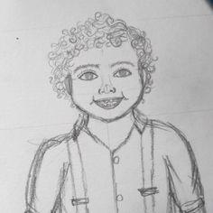 Tem aquarela para o Natal sendo produzida ❤️🎄🎁 Já fez sua encomenda?  ⚫  ⚫  ⚫  #watercolour #watercolor #aquarelle #aquarela #ilustración #ilustração #illustration #draw #sketch #paint #desenho #dibujo #desenhando #baby #babyboy #boy #kids #natal #aquarelinhas #wip #lettering #caligrafia #caligraphy #tipography #tipografia #handmade