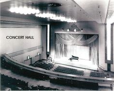 Eaton Auditorium opened Mar 26, 1931 with a recital by soprano Florence Austral and flutist John Amadio, with Ernest MacMillan on organ. Other performances throughout the years by leading artists of the day -  Duke Ellington, Billie Holiday, Frank Sinatra - to name a few.  Also home to many early productions of the Canadian Opera Company and National Ballet of Canada and most notably, famed Canadian pianist Glen Gould made his recital debut on Dec 12, 1945 for the Casavant Society Organ… Eaton College, Glen Gould, Duke Ellington, Billie Holiday, Auditorium, Concert Hall, Recital, Florence, Opera