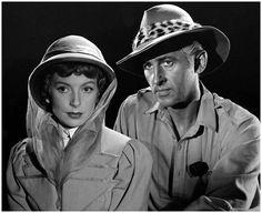 Deborah Kerr & Stewart Granger in 'King Solomon's Mine', 1950 // Alan Grant for LIFE